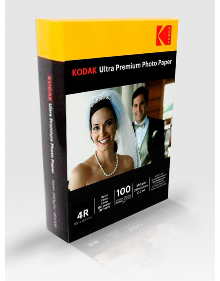 Фото хартия Kodak Ultra Premium Satin 260 - 100 листа