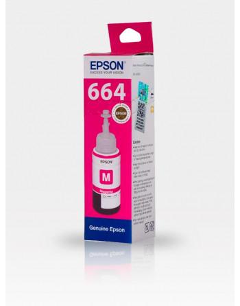 Мастило Epson T6643 Magenta