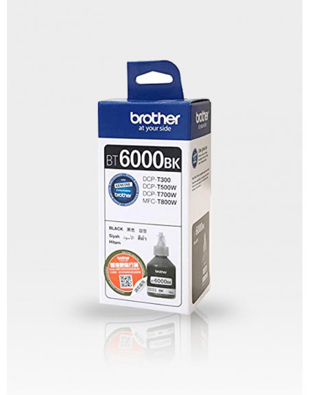 Мастило Brother BT6000BK Black (DCP-T300, DCP-T500W, DCP-T700W)