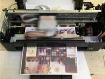 Профилактика на принтер със сублимационни мастила Epson L130